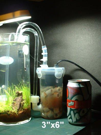 1/2L akvarium...