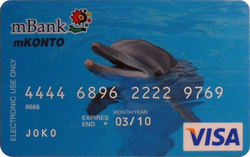 platobna karta, jednej nemenovanej banky ...
