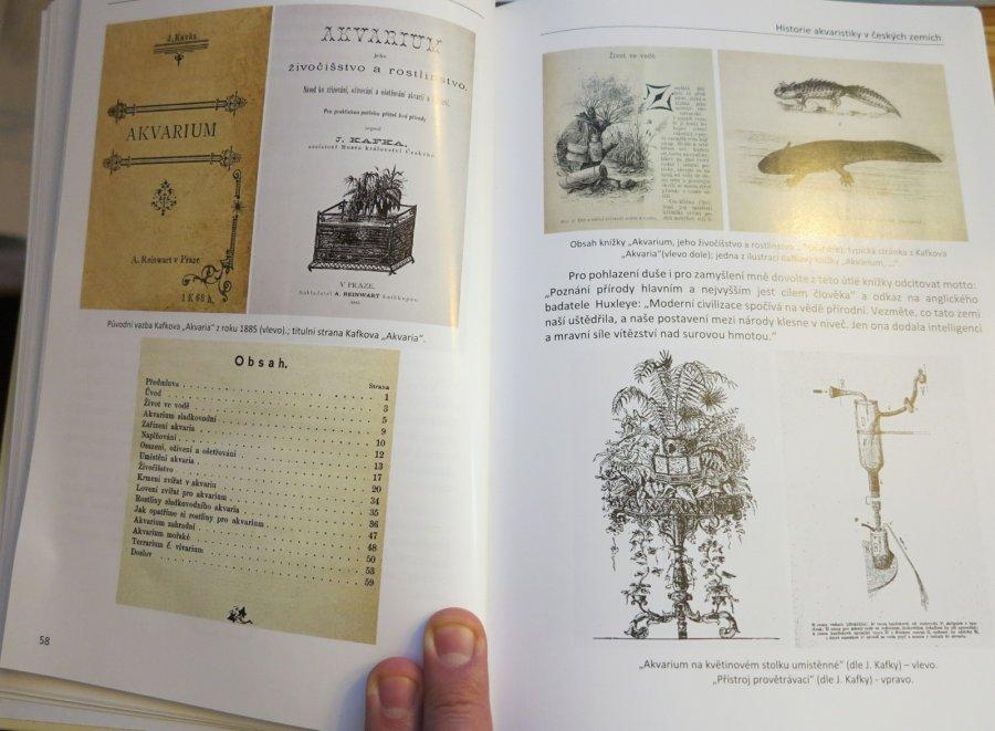 První česká akvaristická kniha