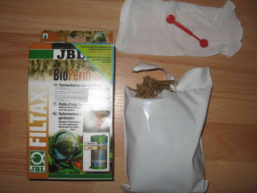 Jbl- bioferm - biologická vložka do filtrov proti rastu rias
