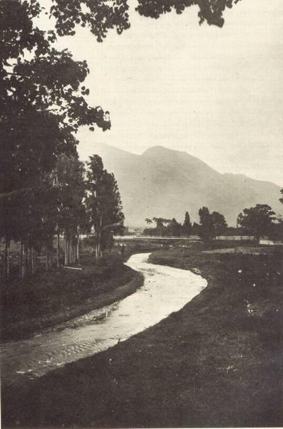 dobová fotografie původní lokality – Rio Guayre